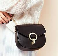 Женская сумка из натуральной кожи Мини, фото 1
