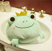 Мягкая игрушка Зелёная лягушка, 35см Berni
