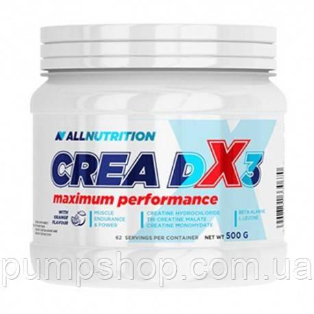 Креатиновая суміш AllNutrition Crea DX3 500 г