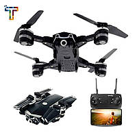 Квадрокоптер  S161 c WiFi камерой, летающий дрон беспилотник, квадрокоптер