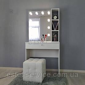 Гримерный столик з поличками біля дзеркала М612