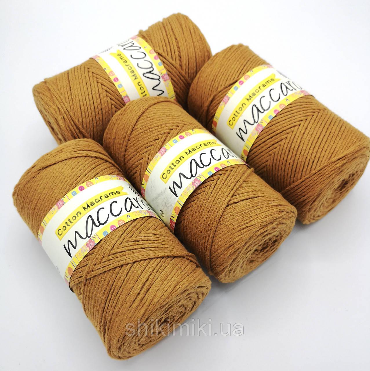 Эко Шнур Cotton Macrame, цвет Терракот