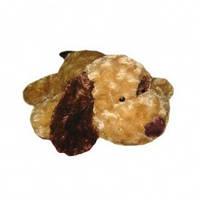 Мягкая игрушка собака коричневое ухо 32 см
