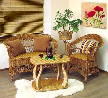 Мебель лозовая от производителя.