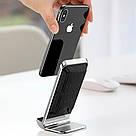 Беспроводное зарядное устройство Baseus Vertical Wireless Qi Charger для Apple iPhone WXLS-01 Black, фото 6