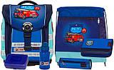Школьный набор (6 предметов) для мальчика McNeill (Макнейл) COMPACT FIRE ENGINE 9560122000 синий