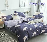 ✅ Полуторный комплект постельного белья (Ранфорс) TAG Funny sheep