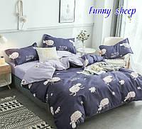 ✅ Комплект детского постельного белья 150х220 TAG Funny sheep