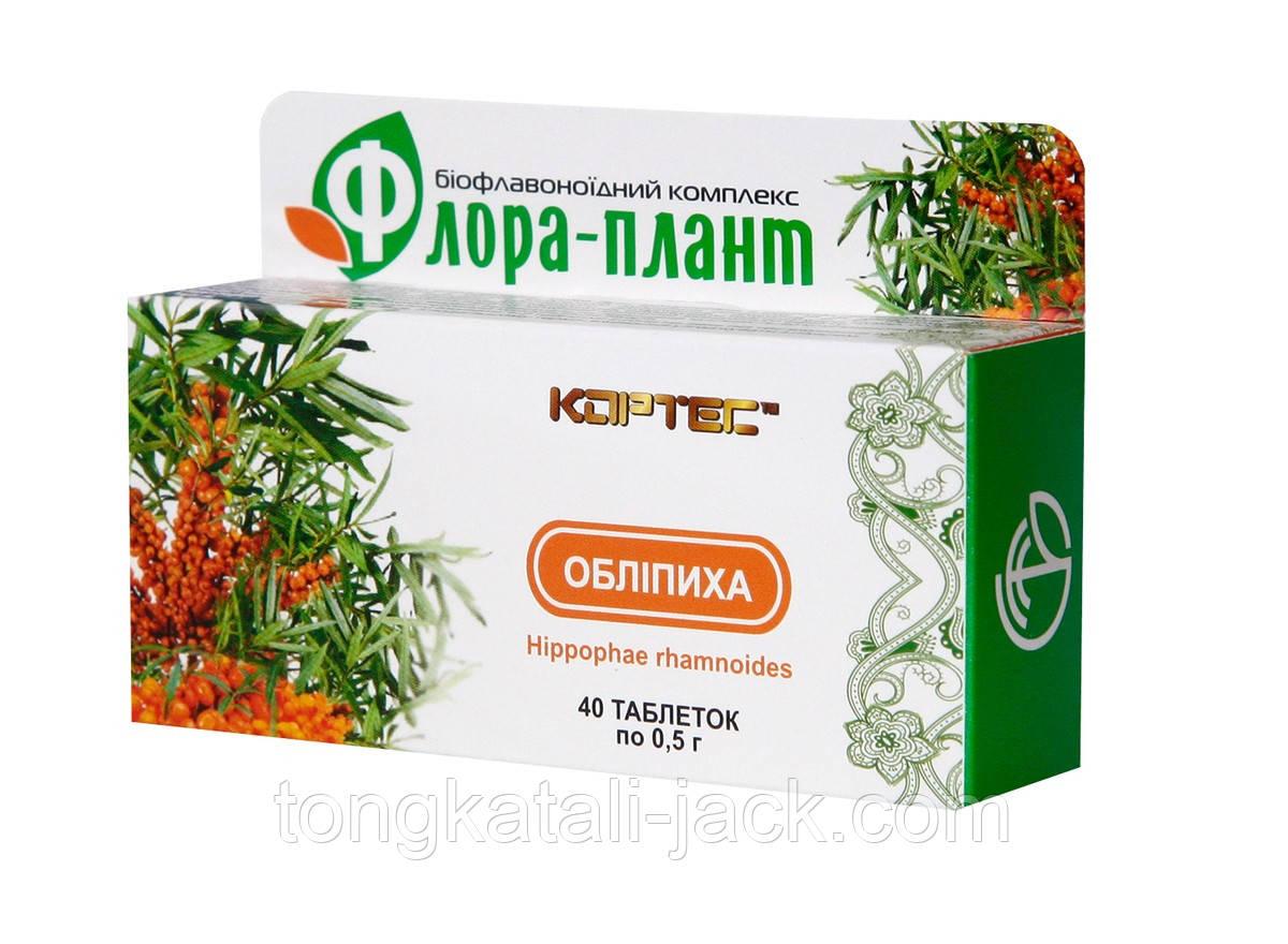Диетическая добавка «ФЛОРА-ПЛАНТ Облепиха», 40 табл.