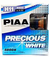 Автолампы PIAA Precious White H11 ☀ 4800K  ✔ комплект 2шт