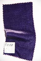 Бархат на шелке № Б 12.07, сиреневый, средним оттенком,  очень тонкий.
