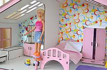 Котедж для ляльок Барбі з меблями і текстилем, фото 2