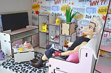 Котедж для ляльок Барбі з меблями і текстилем, фото 3