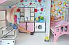 Котедж для ляльок Барбі з меблями і текстилем, фото 6