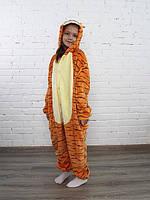 ✅ Детская пижама Кигуруми Тигра 130 (на рост 128-138см)