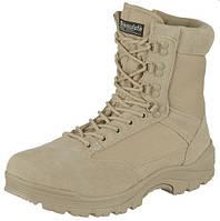 Берцы Tactical Boot Mit YKK Zipper Khaki Teesar для Sturm Mil-Tec
