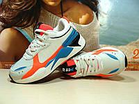 Женские кроссовки BaaS RS-X бежевые 37 р., фото 1