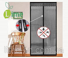 Москитная сетка на магнитах для двери, 90х210 см