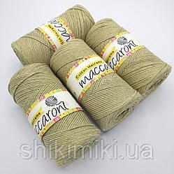 Эко Шнур Cotton Macrame, цвет Полыни