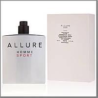 Мужские Allure Homme Sport туалетная вода 100 ml. (Тестер Аллюр Хом Спорт), фото 1