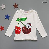 Лонгслив Hello Kitty для девочки. 86-92;  122-128 см, фото 1
