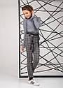 Брюки демисезонные модные для девочек с завышенной талией размеры 146 - 164, фото 2
