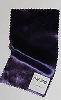 Бархат на шелке № Б 12.018, сиреневый, темным оттенком,  средней плотности.