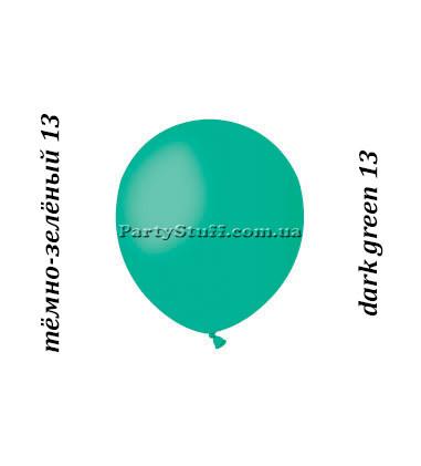Латексные шары Gemar А50 пастель темно-зеленый