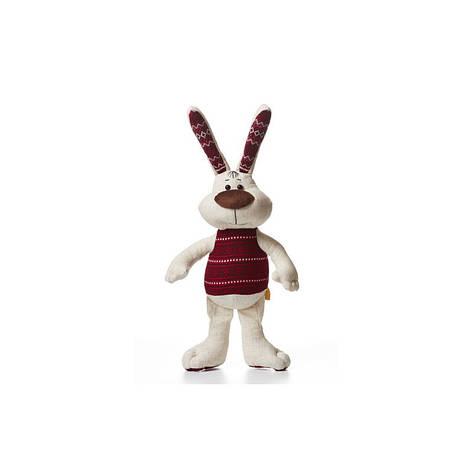 Мягкая игрушка заяц Хвалько, фото 2