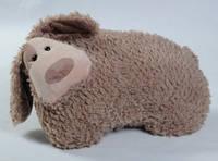 Мягкая игрушка собака Боня коричневая 40 см