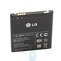 Аккумулятор LG BL-49PH 1650 mAh F120 AAAA/Original тех.пакет