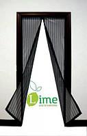 Москитная сетка на магнитах для двери, 120х210 см