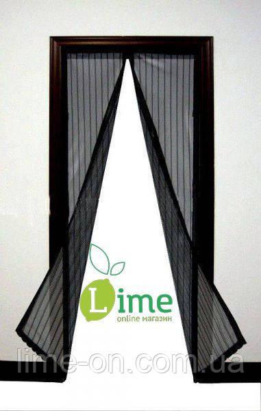 Москитная сетка на магнитах для двери, 120х210 см - LIME online магазин в Харькове