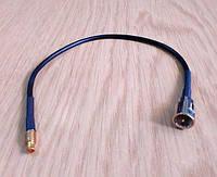 Антенный адаптер, переходник, pigtail TS9-FME для модема Pantech UM185, фото 1