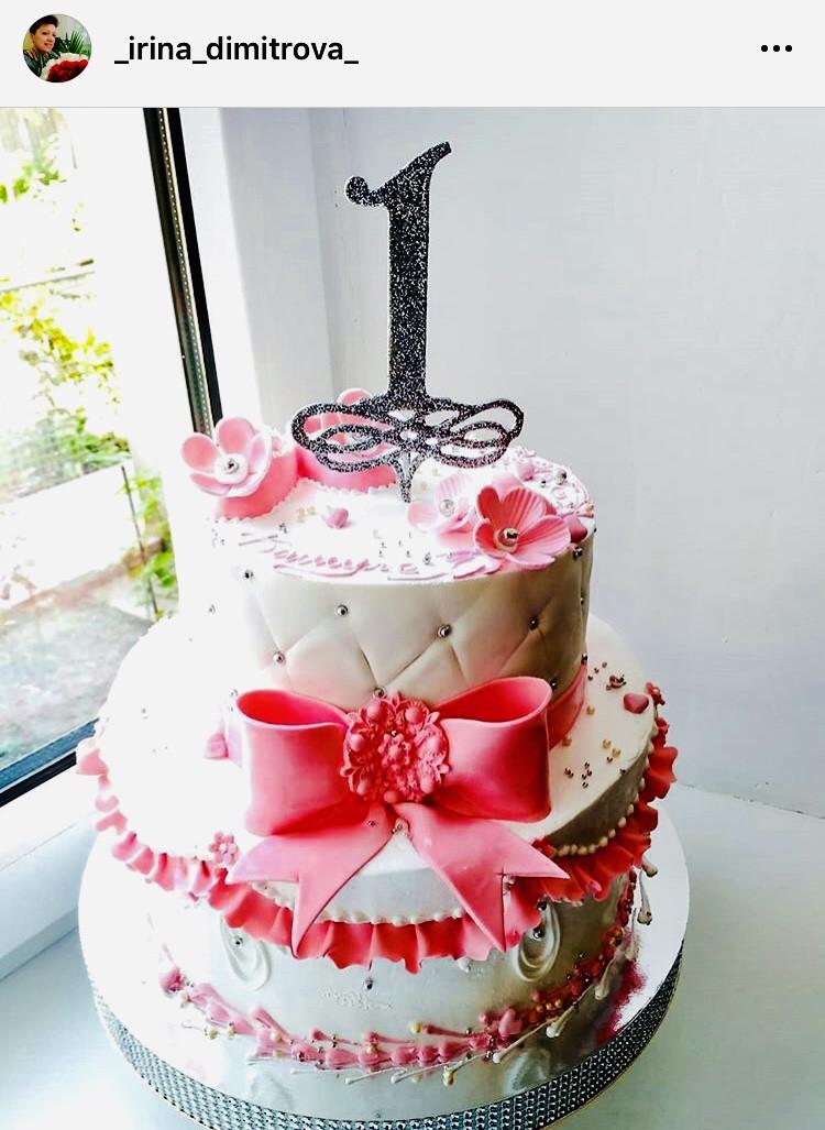 Топпер Цифра 1 на торт Топпер цифра 1 в блискітках Срібляста цифра 1 Цифра на паличці в торт