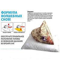 Ортопедическая подушка из гречишной лузги 50х70 см