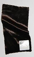 Бархат на шелке № Б 12.36, шоколад, средним оттенком,  очень тонкий.