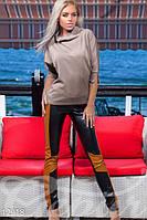 Женский яркий блузон с модными рукавами летучая мышь кукуруза