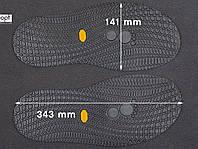 Резиновая подошва/след для обуви BISSELL, т.3,65 мм, art.111, цв. чёрный