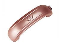 Ультрафиолетовая лампа для маникюра Lke  Розовый