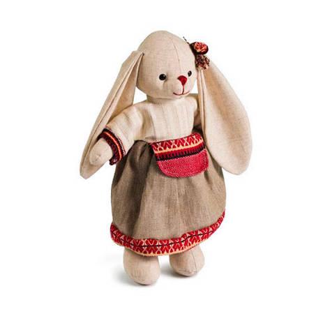 М'яка іграшка зайчик Даша великий, фото 2