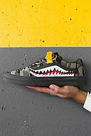 Кроссовки BapexVans Old Skool Green Camo mard