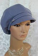 Женская кепка кашемир