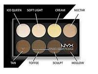 Палитра корректоров для лица NYX highlight & contour pro palette