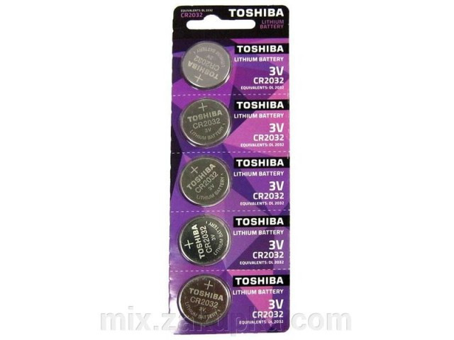 Батарейка Toshiba CR 2032