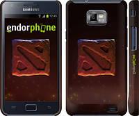 "Чехол на Samsung Galaxy S2 Plus i9105 Dota 2. Logo 3 ""982c-71"""