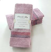Набор полотенец 35*55 (4шт) Розовый