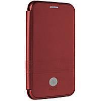 Чехол IMax Leather Book Case — Samsung J8 2018(J810) — Red