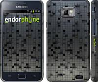 "Чехол на Samsung Galaxy S2 i9100 Кубики ""1061c-14"""