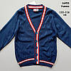 Кофта (кардиган) для мальчика. 110-116;  128-134 см, фото 3